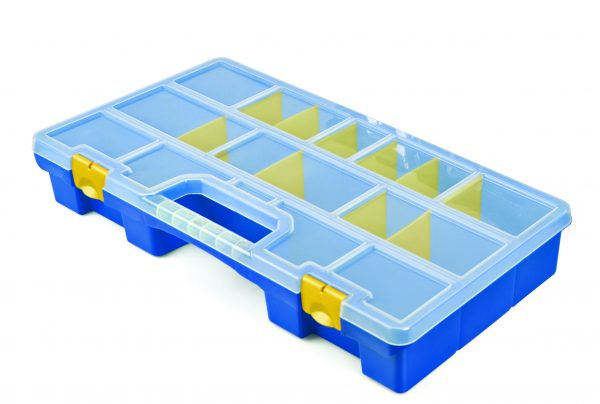 Organiser case with movable dividers mod. 49-16