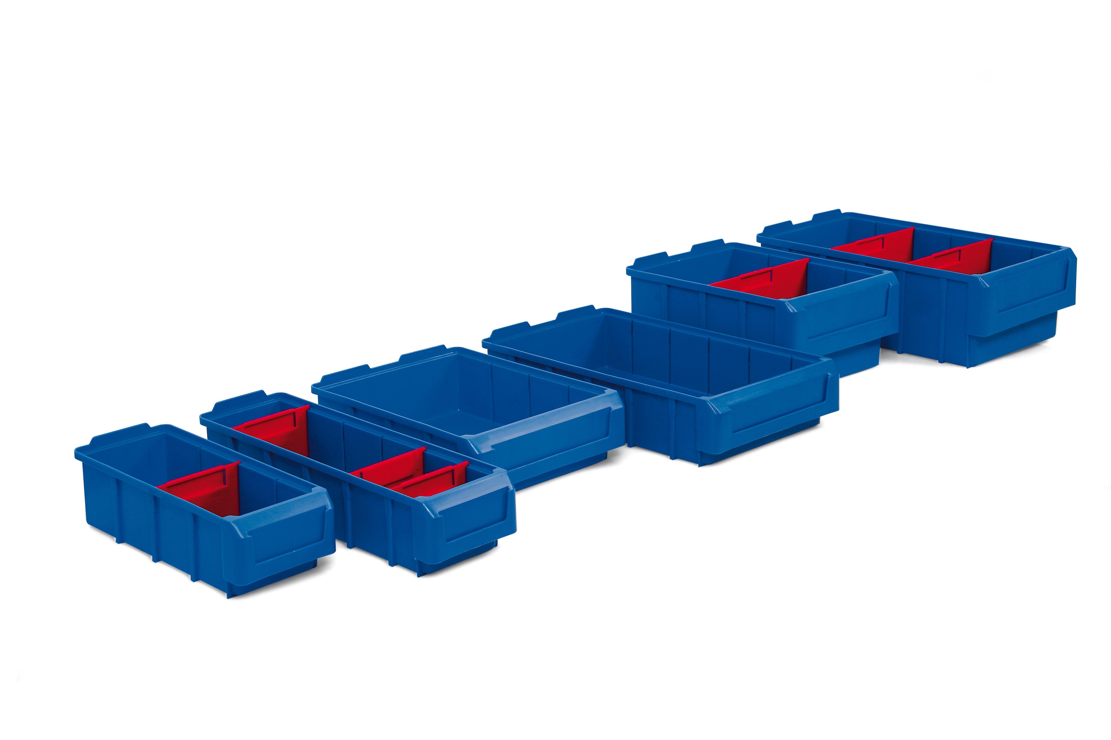 Cajones estanterías y separadores