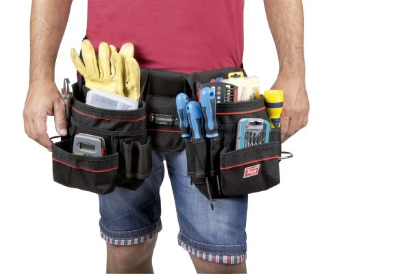 Professional double tool belts