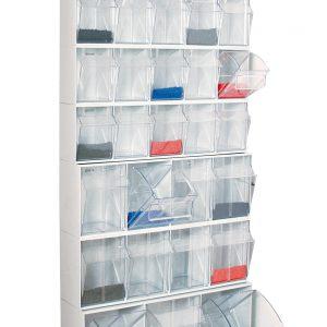 1 contendores basculantes 300x300 - Kit estantería de plástico