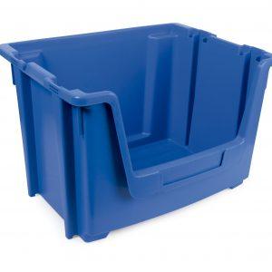 1 contenedor encajable apilable 1 300x300 - Cajas de almacenaje | Cajas apilables | Cajas de plástico