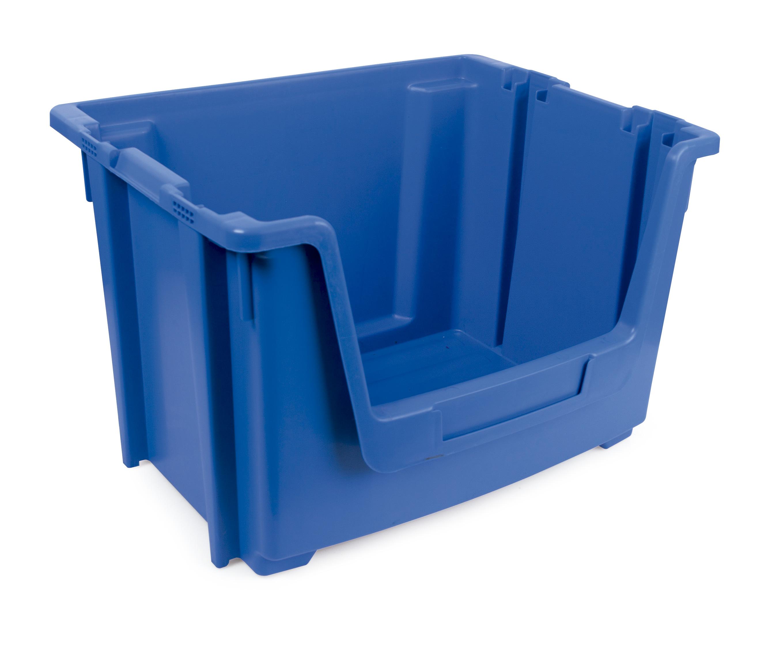 1 contenedor encajable apilable 1 - Cajas de almacenaje | Cajas apilables | Cajas de plástico