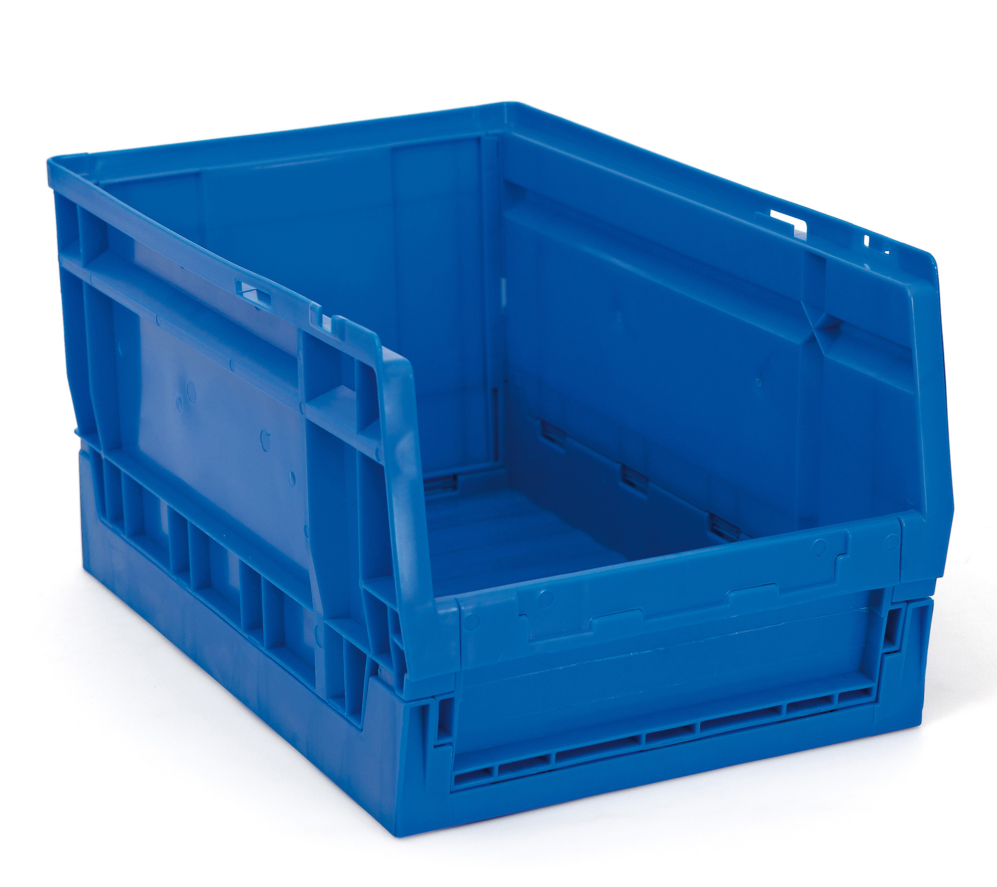 1 gaveta plegable apilable - Gavetas de plástico apilables