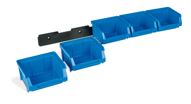 1 kit de colgar - Gavetas de plástico apilables