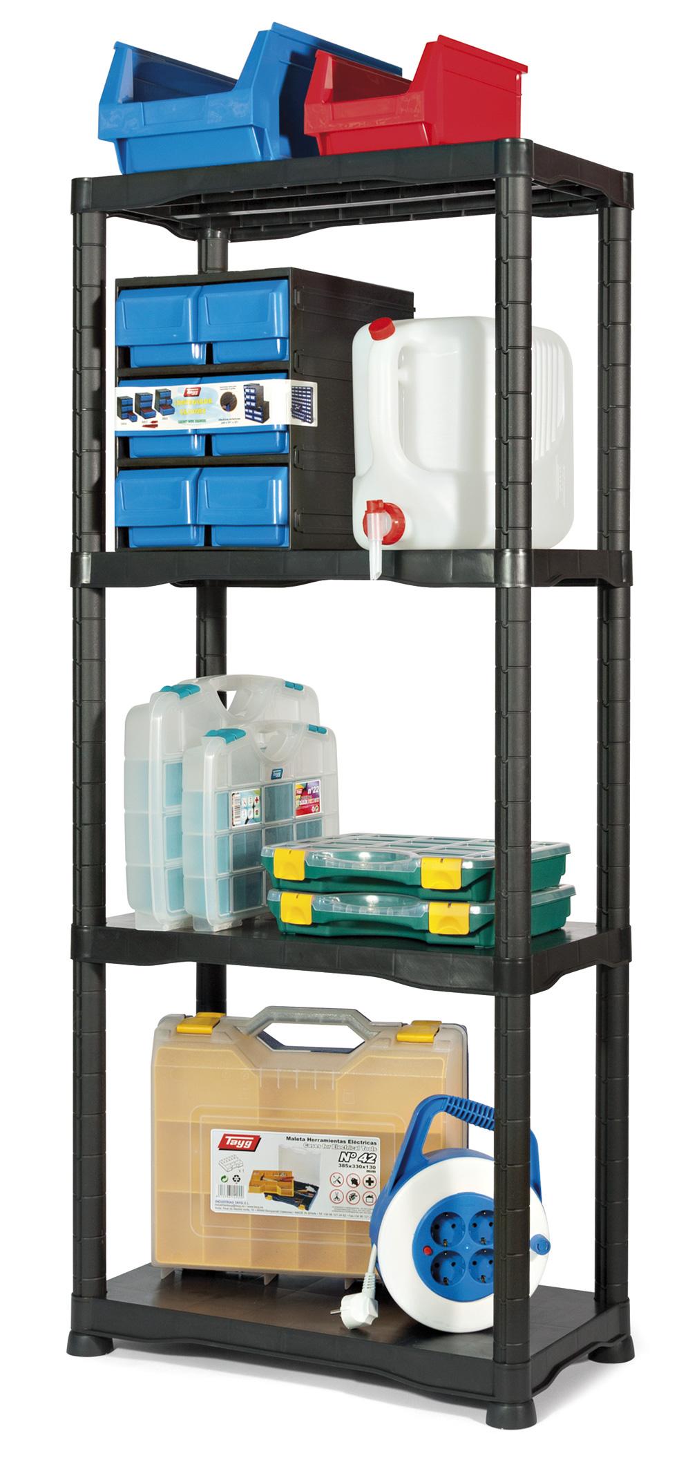 1 kit estanteria de plastico - Kit estantería de plástico