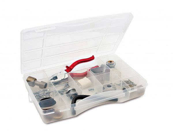 Organiser case with fixed dividers mod. 300-16