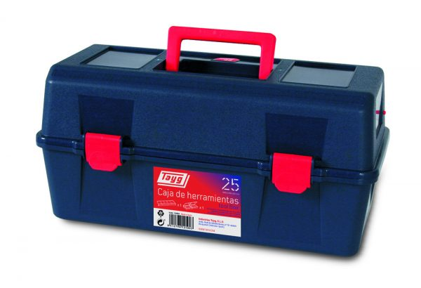 Cajas de herramientas de plástico mod. 21-25