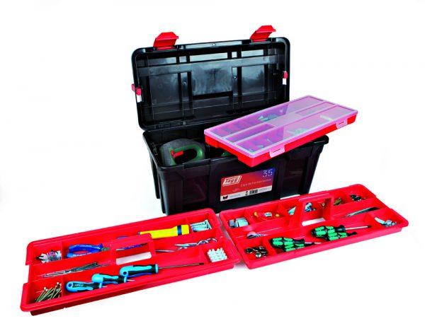 Cajas de herramientas de plástico mod. 34-36