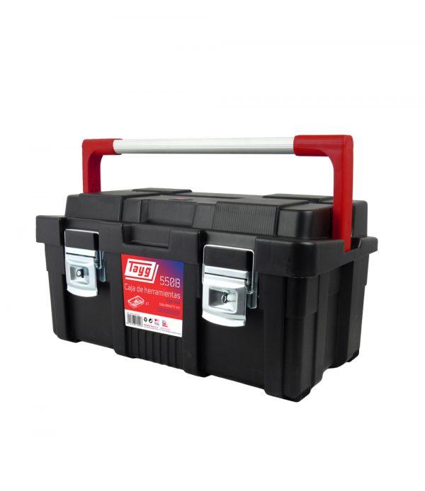 Cajas de herramientas de plástico y aluminio mod. 550