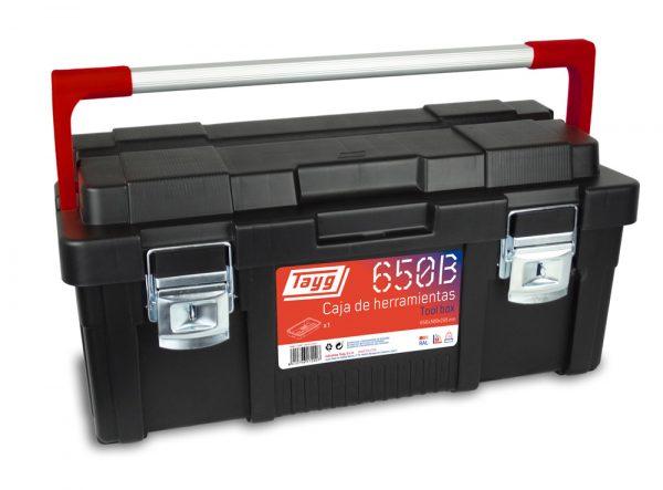 Cajas de herramientas de plástico y aluminio mod. 650