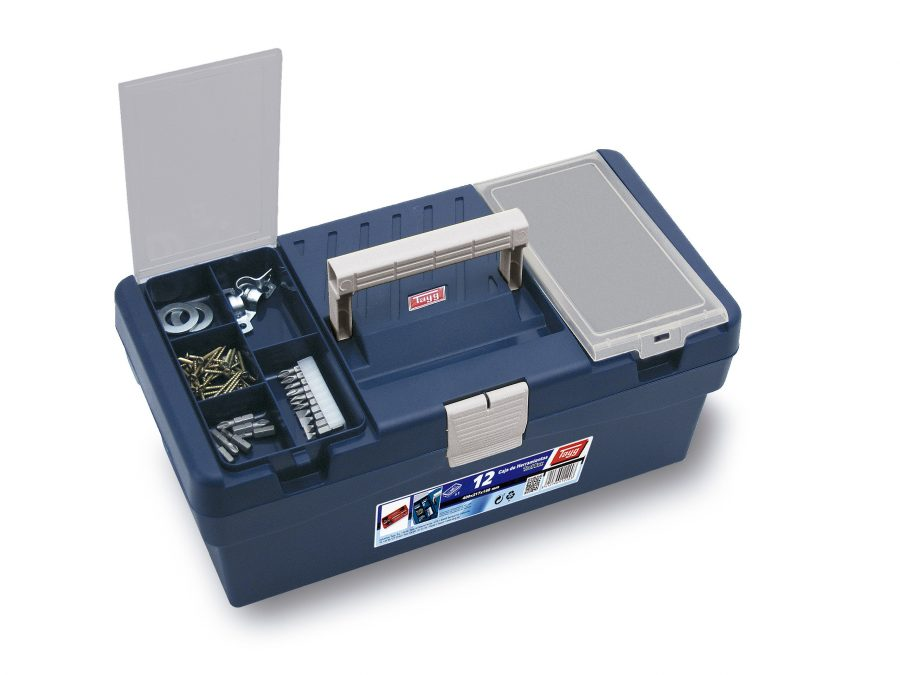 Cajas de herramientas de plástico mod. 9-12