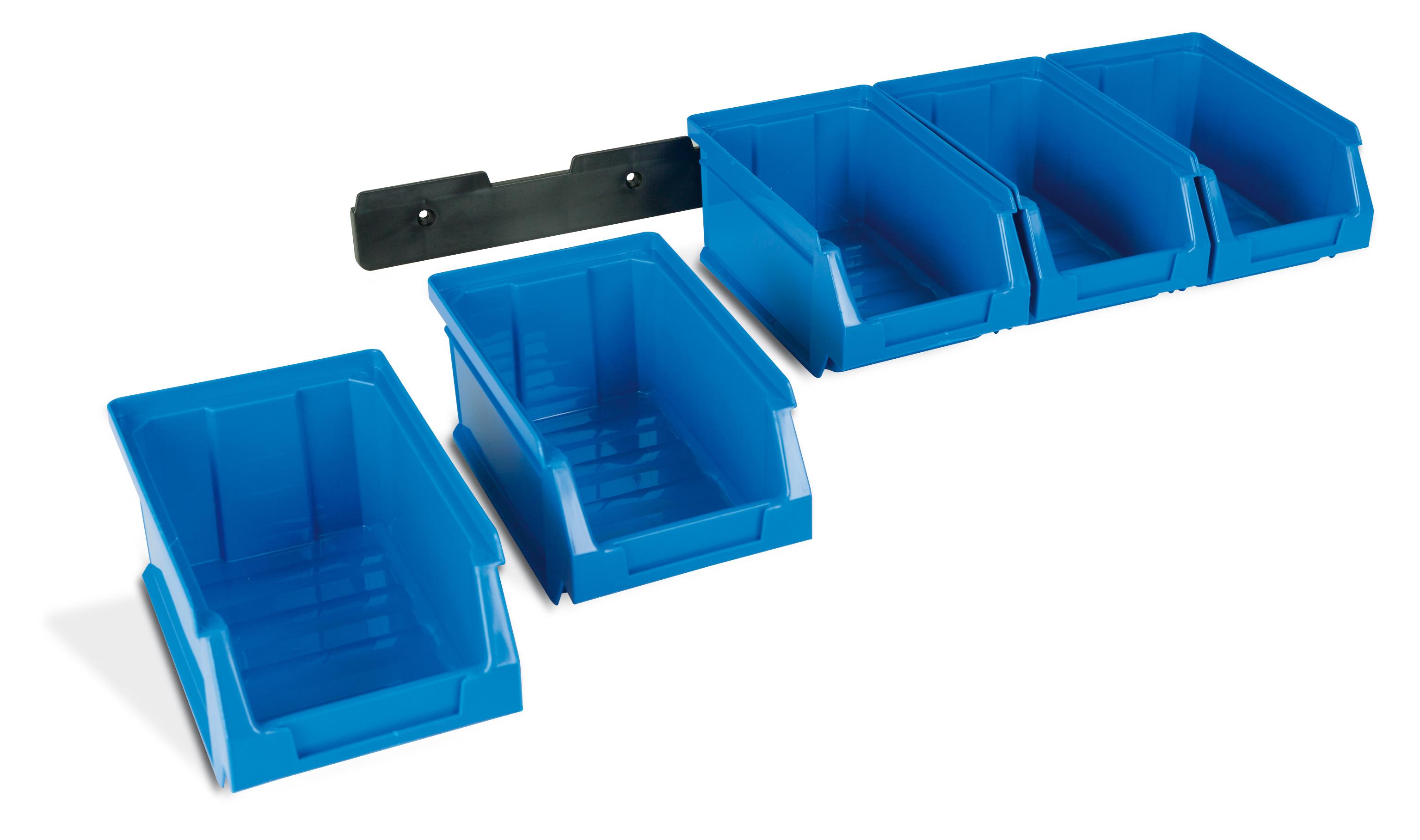 2 kit de colgar - Gavetas de plástico apilables