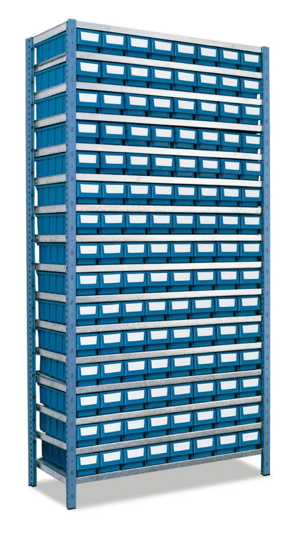 2 kit estanterias metalicas 600x1056 - Kit estanterías metálicas mod. 301-401