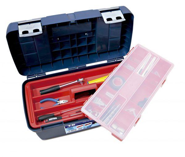 3 caja herramientas plastico 600x508 - Cajas de herramientas de plástico mod. 15-19