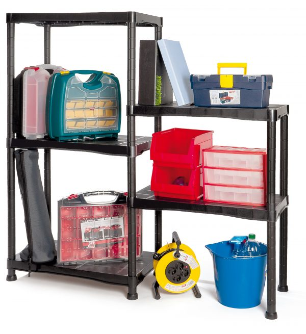 3 kit estanteria de plastico 600x655 - Kit estantería de plástico mod.9