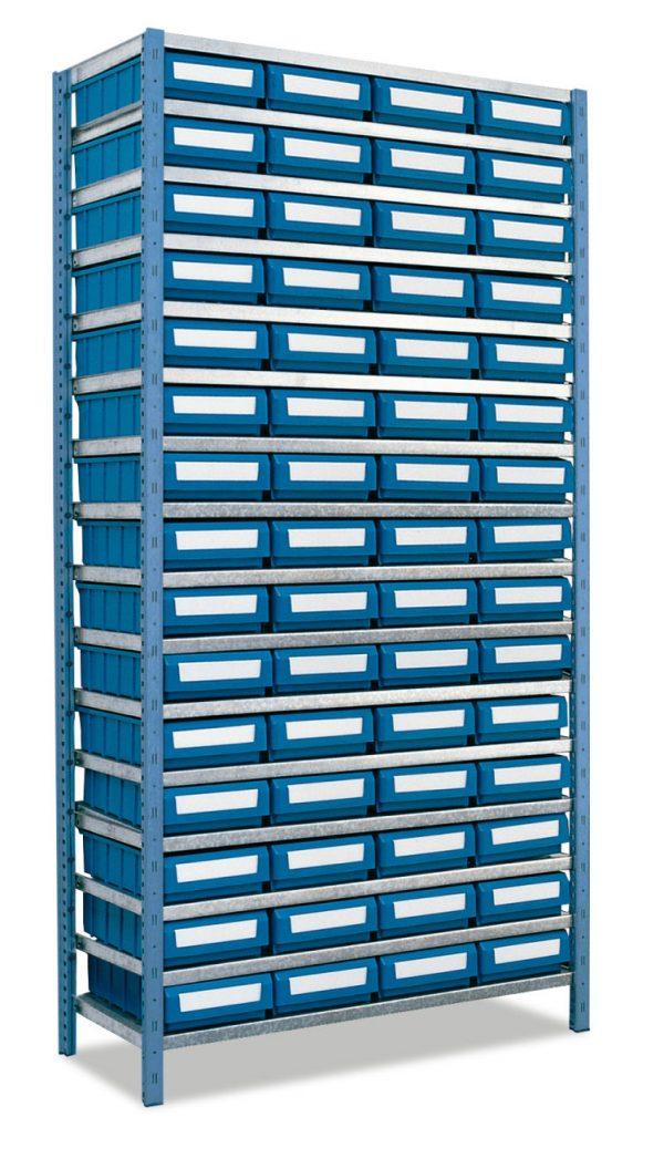 31 kit estanterias metalicas 600x1056 - Kit estanterías metálicas mod. 401-402