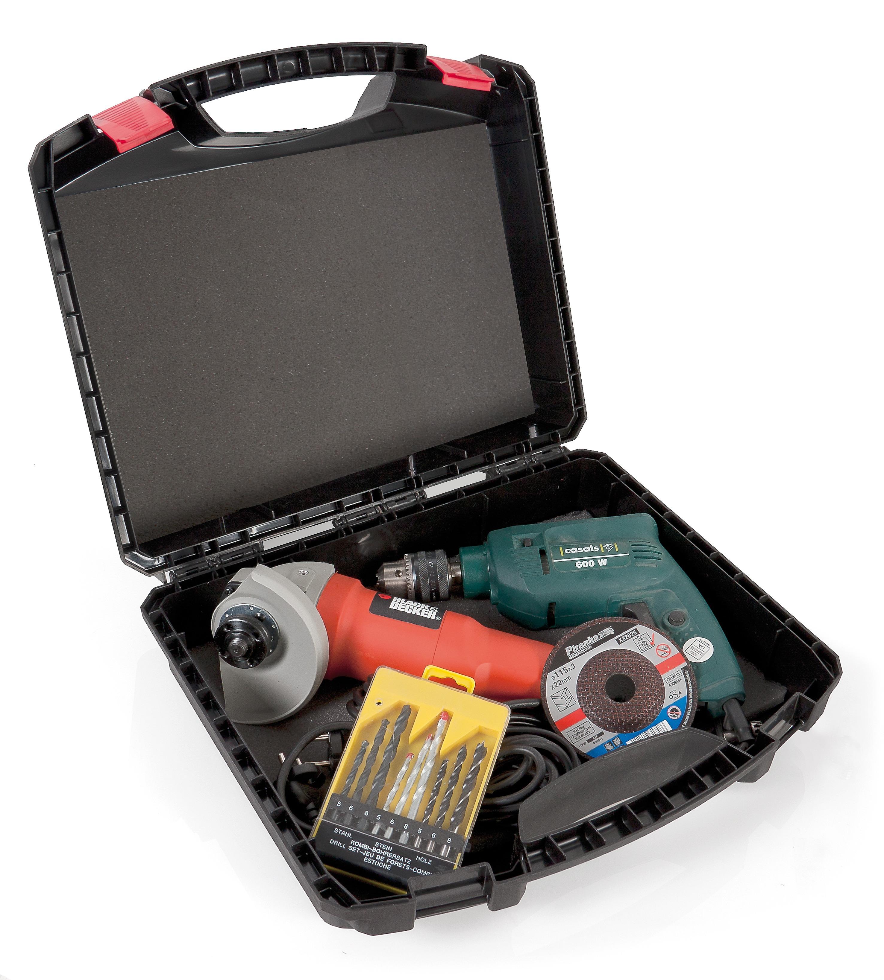 4 maletas herramientas electricas - Maletín de herramientas