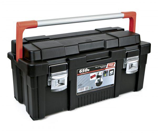 5 caja de herramientas de plastico y aluminio 600x505 - Cajas de herramientas de plástico y aluminio mod. 650