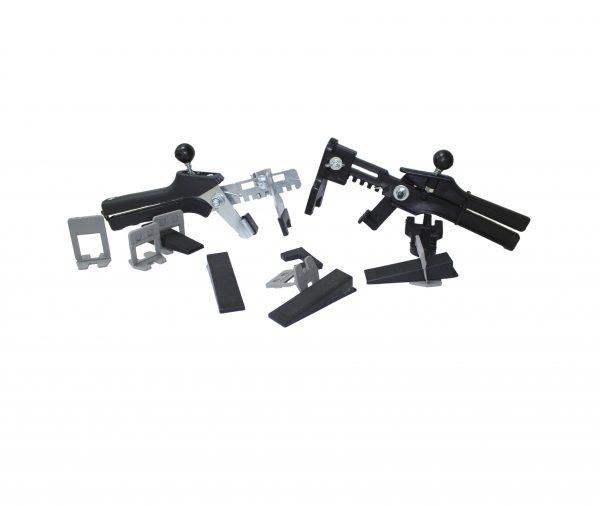 kit sistema nivelacion 600x506 - Kit Sistema de nivelación con cuña profesional  1mm-1.5mm