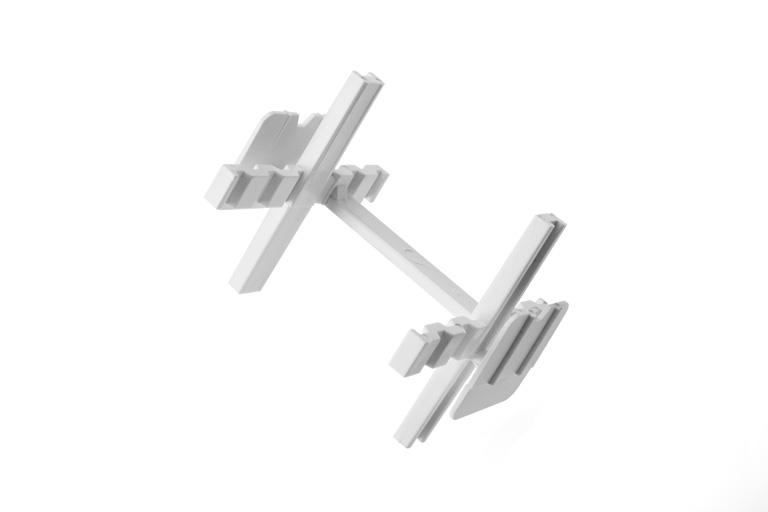 separador bloque vidrio - Fachada y pavés