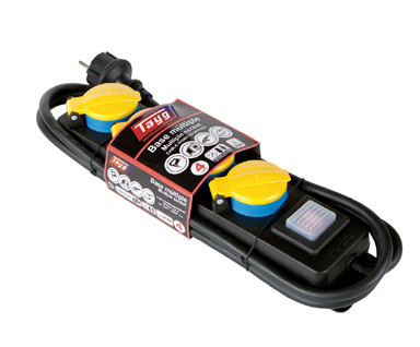home productos prolongadores electricos tapa - Bases Múltiples con tapa