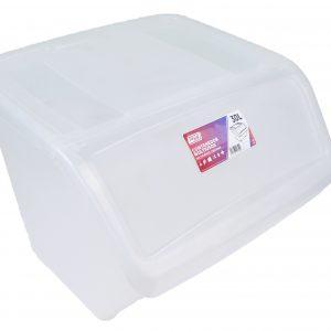 caja ordenacion transparente 30l destacada 300x300 - Colección Hogar