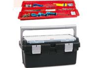 Imagenes producto - Cajas de herramientas de plástico y aluminio mod. 400-450