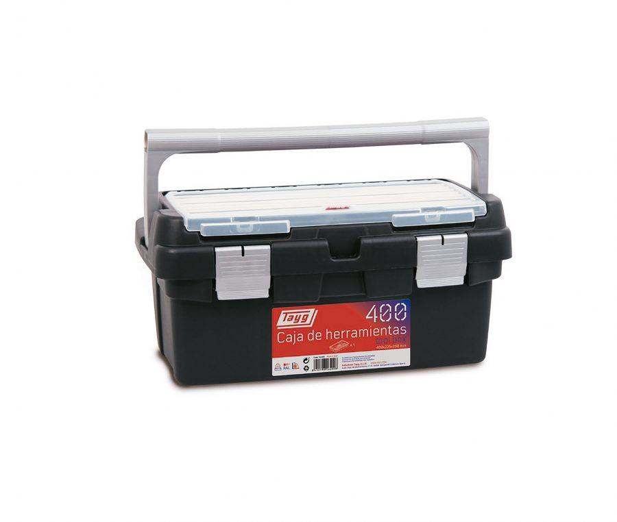 Cajas de herramientas de plástico y aluminio mod. 400-450