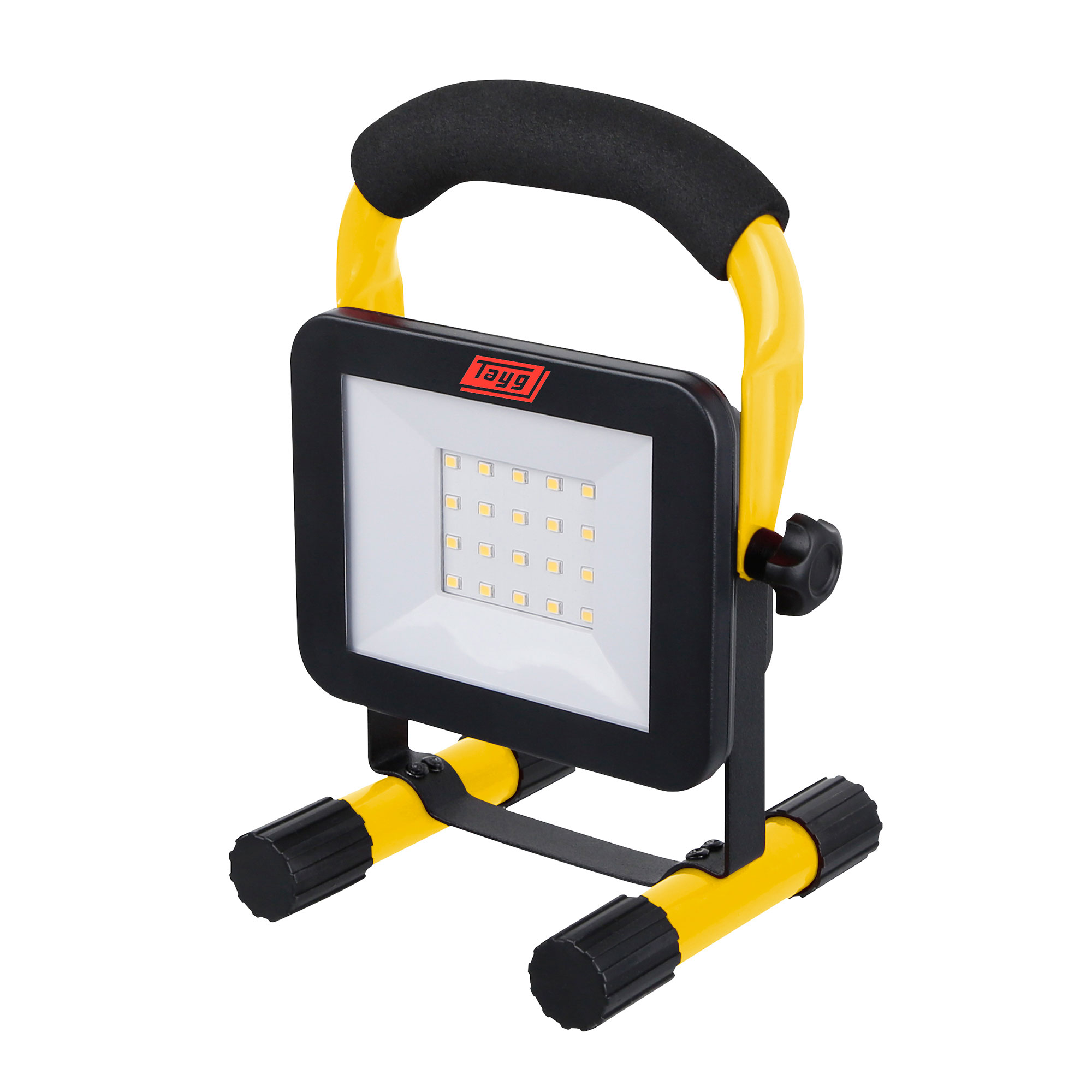 Photo typ GCA10S D7 perspective yellow - Proyectores led con soporte