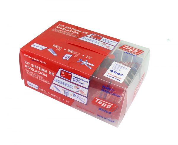 Kit sistema nivel baldosas cuña SLIM – ancha 1/1,5 mm