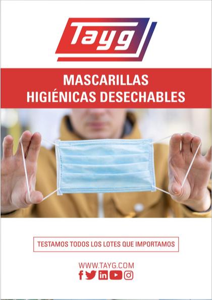 Info masc ok - Mascarillas higiénicas desechables