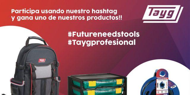 Participa usando nuestros hashtags y gana uno de nuestros productos